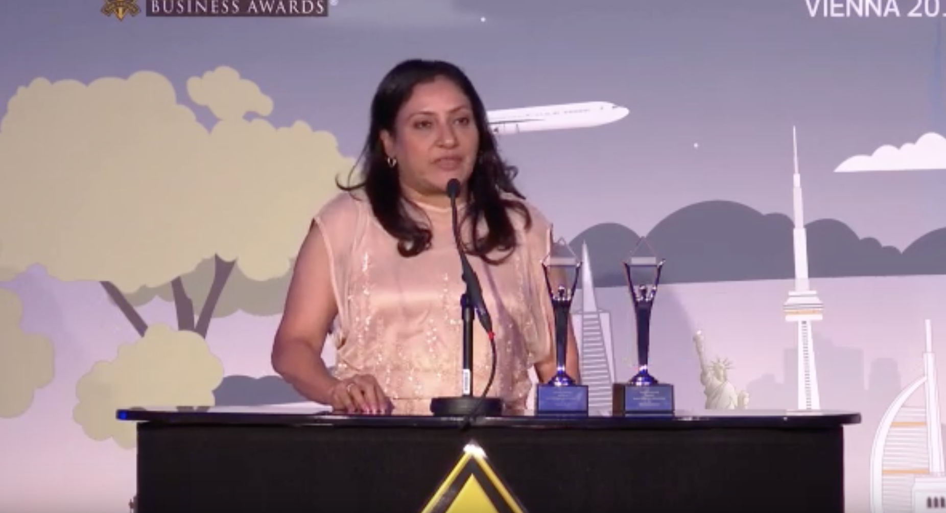 Dr. Jaya Vaidhyanathan, CEO – BCT Digital | Award Presentation | The Stevies 2019